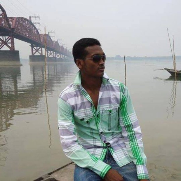 Al Amin Hossain at Kushtia Lalon Shah Bridge