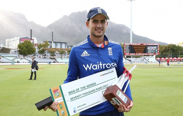 Alex Hales Got Man Of The Series Award
