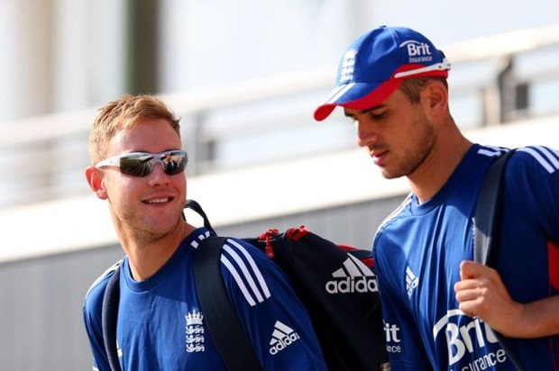 Alex Hales With Stuart Broad