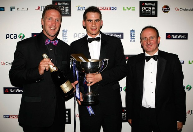 Alex Hales at NatWest PCA Awards Dinner