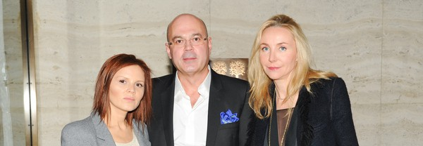 Alexei Kuzmichev with Svetlana Uspenskaya and Michaela de Pury