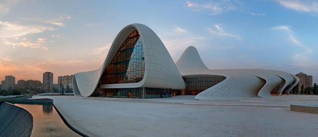 Heydar Aliyev Center in Azerbaijan