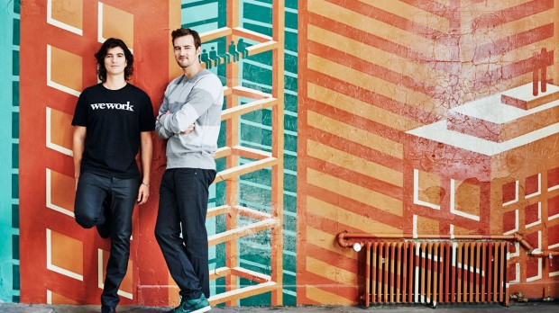 WeWork Co-Founders