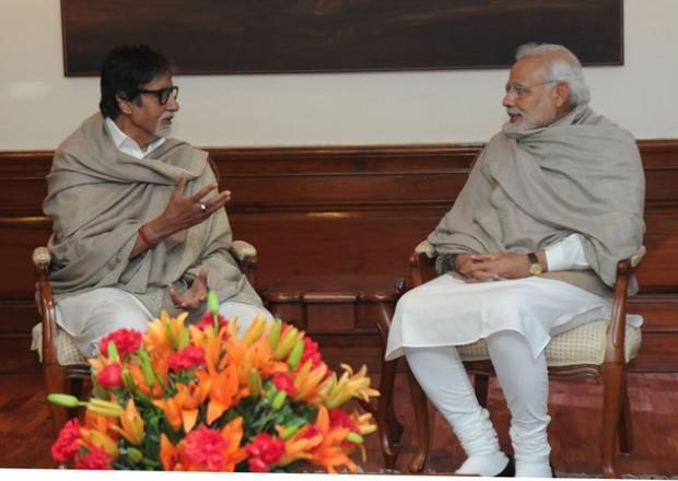 Amitabh in Conversation with Narendra Modi