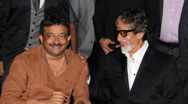 Director RGV with Amitabh Bachchan
