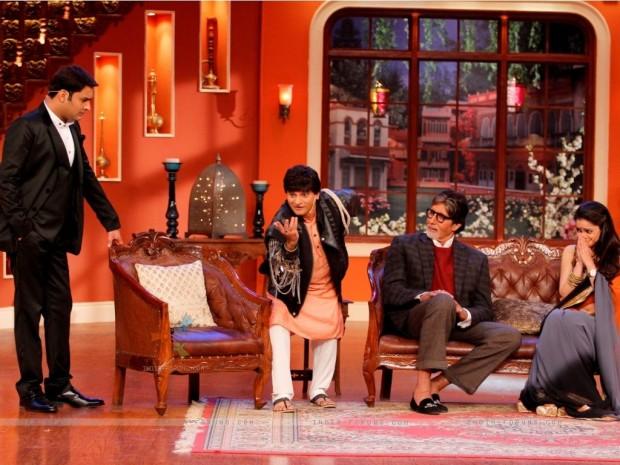 Amitabh in Kapil Sharma's CNWK Show
