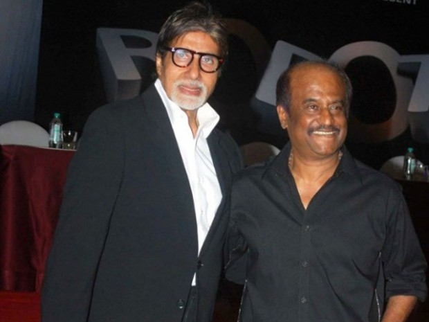 Legends of Indian Cinema Amitabh Bachchan and Rajni Kanth