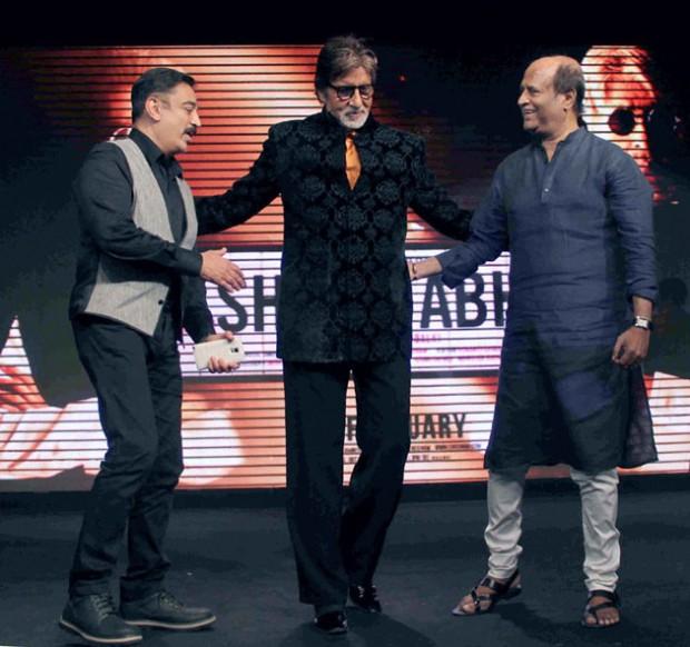 Amitabh with Kamal Hasan and Rajni Kanth