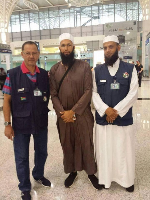 Hashim Amla during Hajj
