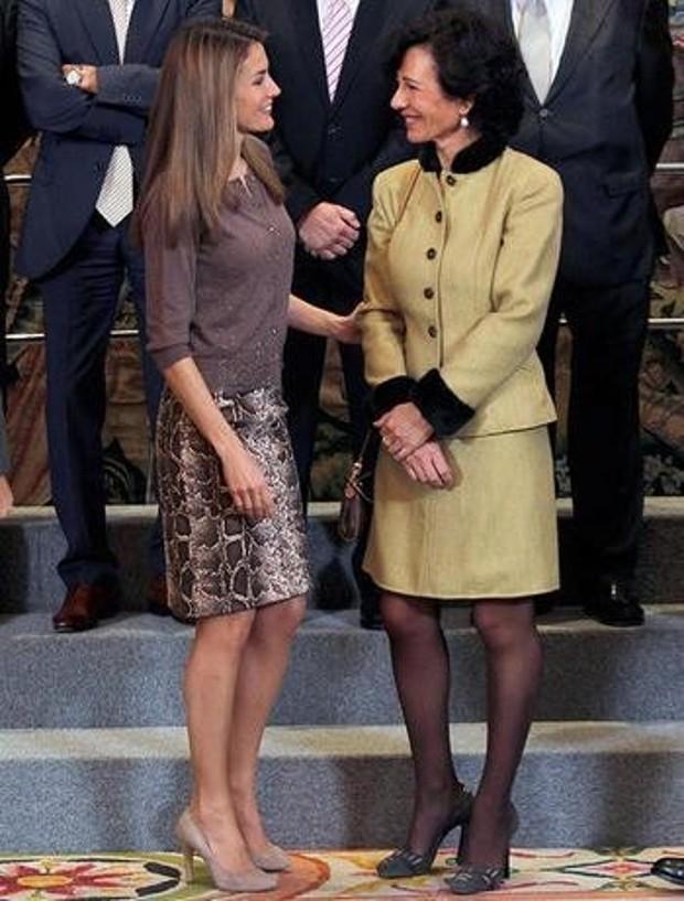Letizia with Ana Patricia Botin