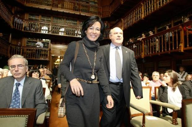 Ana Patricia Botin in Bilbao