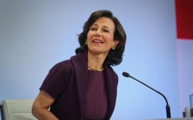 Ana Patricia Botin at Meeting