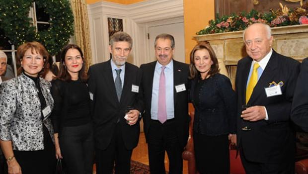 Olga Bornozi, Georgia Garinois-Melenikiotou, Nicolas Bornozis, Andrew Liveris, Andonia Milonas & Spyros Milonas