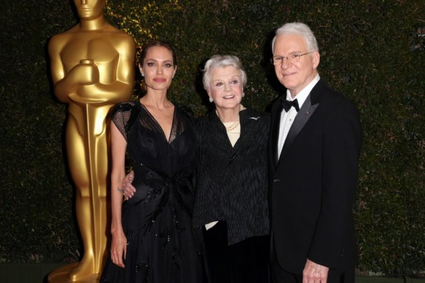 Steve Martin, Angelina Jolie and Angela Lansbury