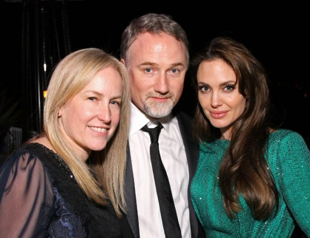 David Fincher, Angelina Jolie and Ceán Chaffin