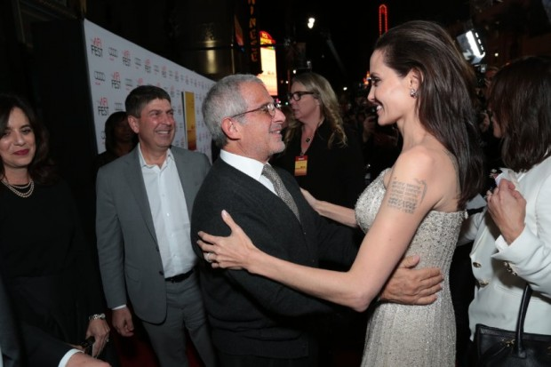 Angelina Jolie, Ron Meyer and Jeff Shell at event of By the Sea