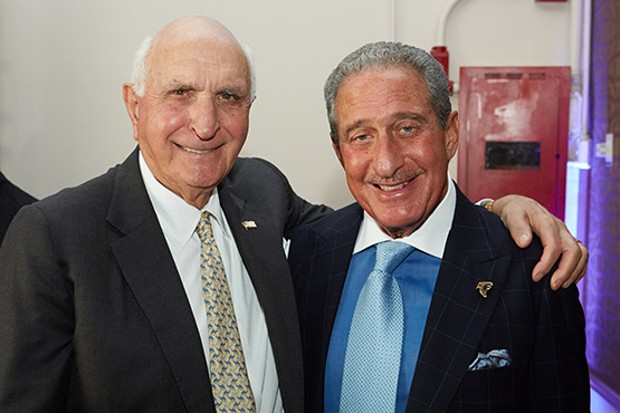 Arthur Blank With Home Depot Co-Founders Ken Langone