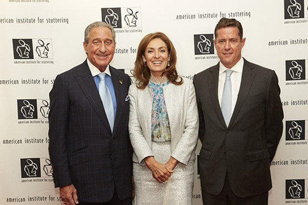 Arthur Blank, Suzy Welch and Jes Staley