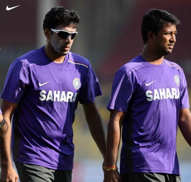Ashwin and Pragyan Ojha