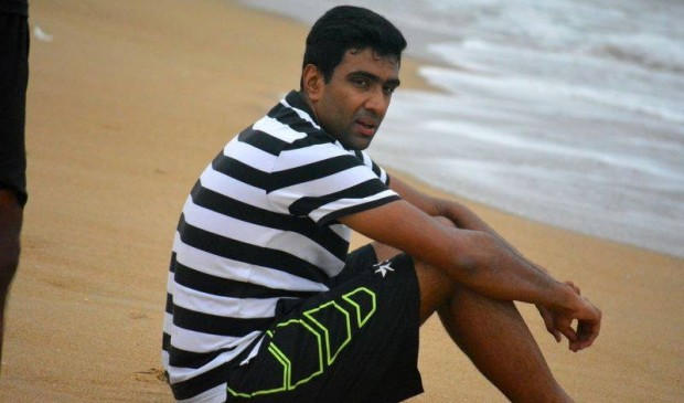 Ashwin at Beach