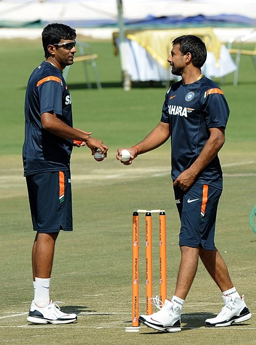 Ashwin with PK