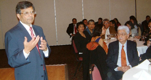 Dr.Sheth with Azim Premji