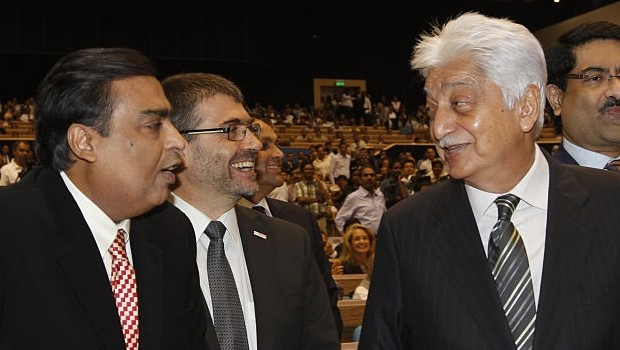 Azim Premji in conversation with Muskesh Ambani