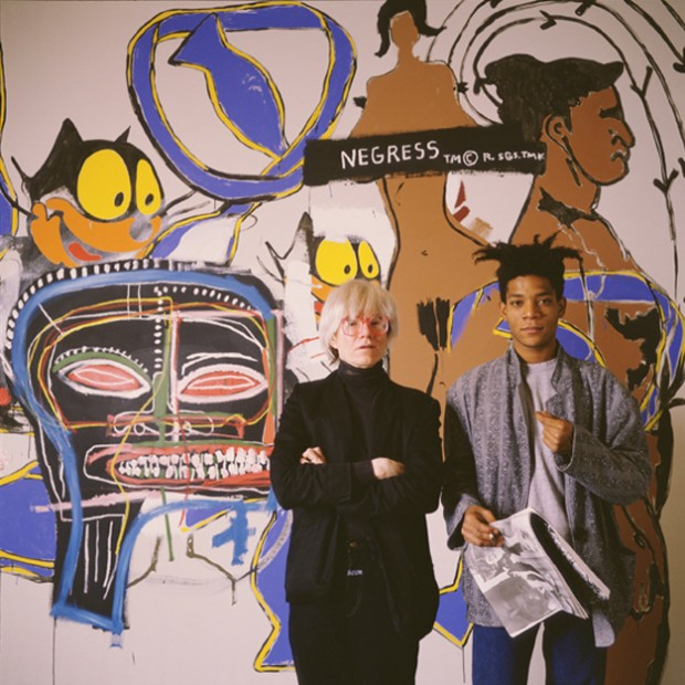Jean Michel Basquiat and Andy Warhol