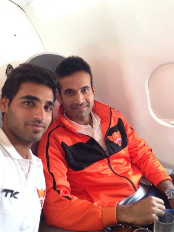 Bhuvi and Irfan Pathan