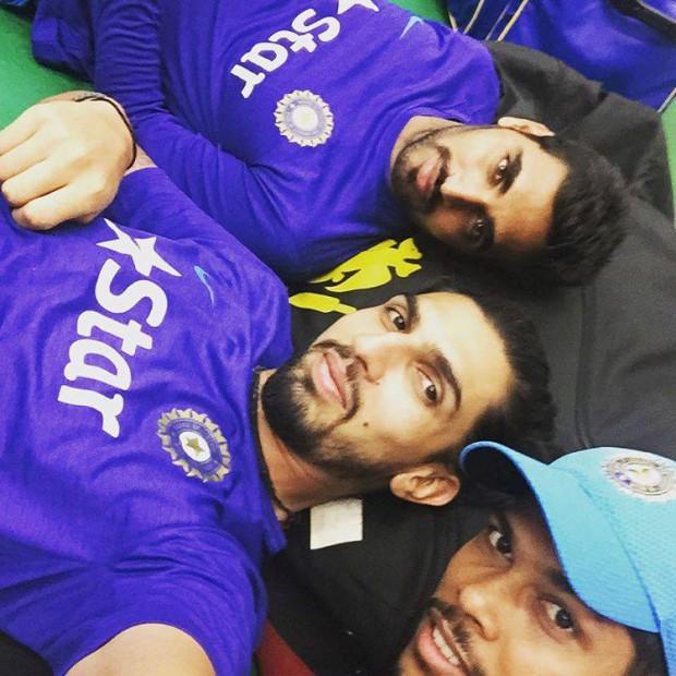 Indian seamers Bhuvi, Ishant and Umesh Yadav