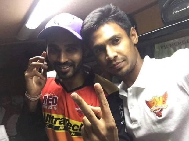 Sunrisers key player Bhuvi and Mustafizzur Rehman