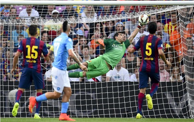 Super Save by Claudio Bravo