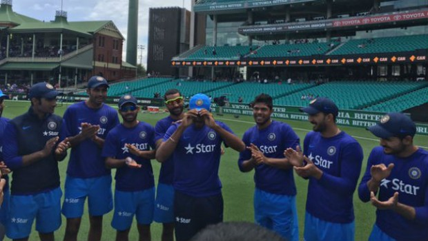 Jasprit Bumrah received Indian Cap during His Debut