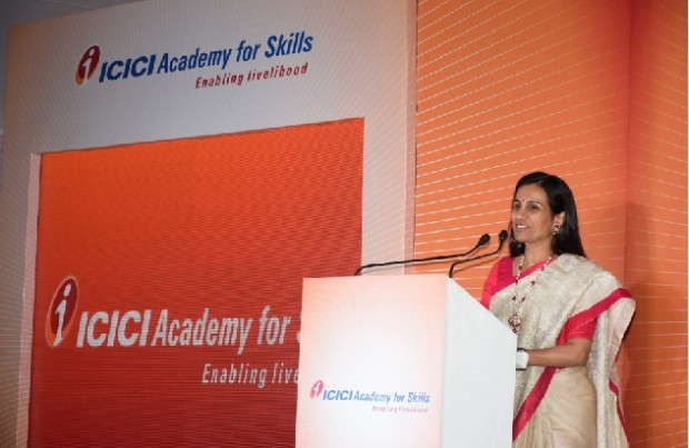Chanda Kochhar at ICICI Academy