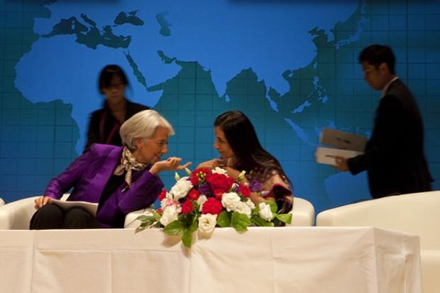 Chanda Kochhar at IMF In Tokyo