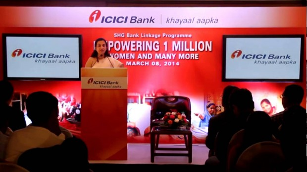 Chanda Kochhar Speech On Women's Day