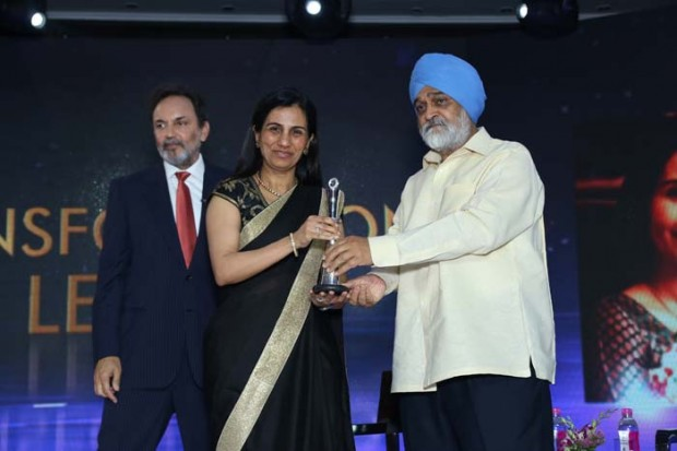 Chanda Kochhar got NDTV Profit Business Leadership Award