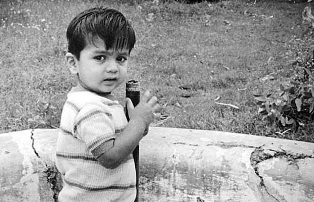 Rahul Dravid in Childhood