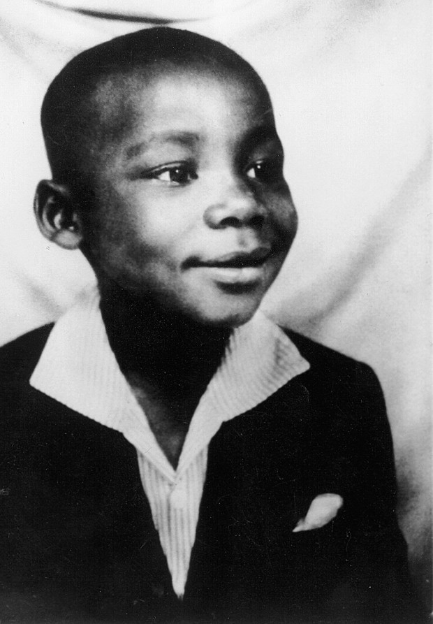 Childhood Picture of Martin Luther King