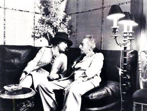 Gabrielle Chanel and Jean Cocteau