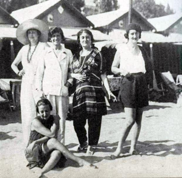 Misia with Coco Chanel 1923 in Venice