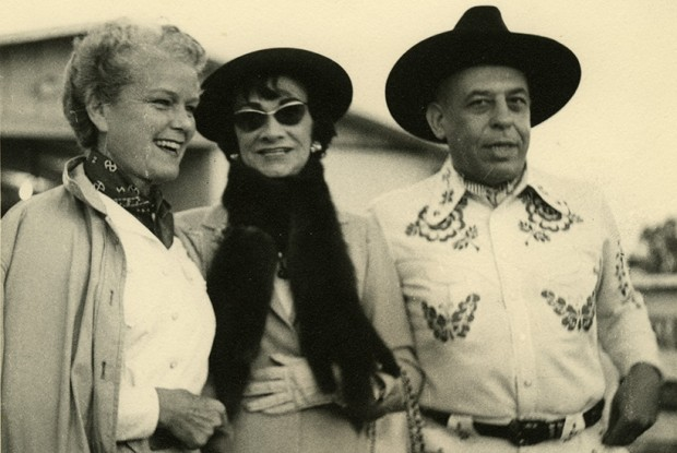 Mary 'Billie' Marcus, Gabrielle Chanel, and Stanley Marcus
