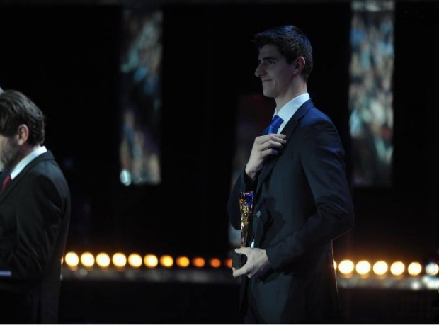 Thibaut Courtois at LFP Awards