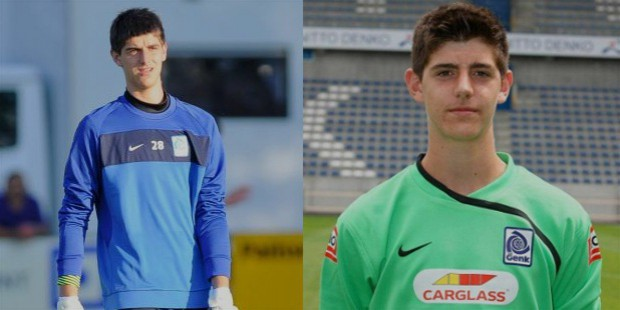 Courtois in his early career