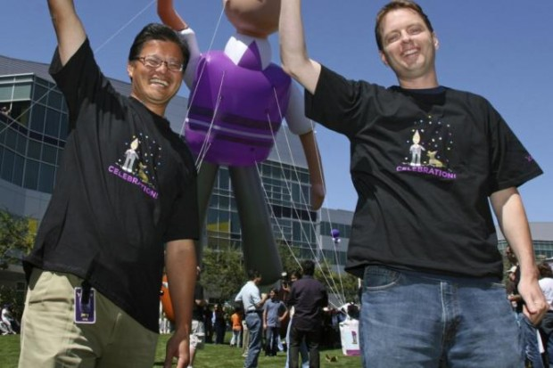 David Filo and Jerry Yang at Yahoo