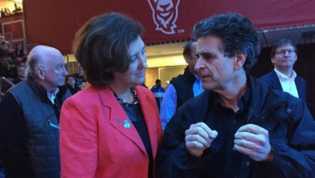 Pres Leshin & Dean Kamen
