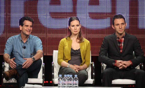 Dean Kamen with Joanne Colan and Justin Wilkes during 2010 TCA Tour