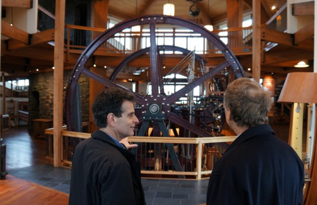 Bill Gates with Dean Kamen at DEKA Research