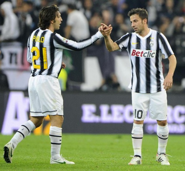 Del Piero and Pirlo