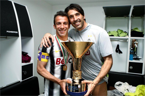 Buffon and Del Piero